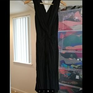 BEBE long black dress